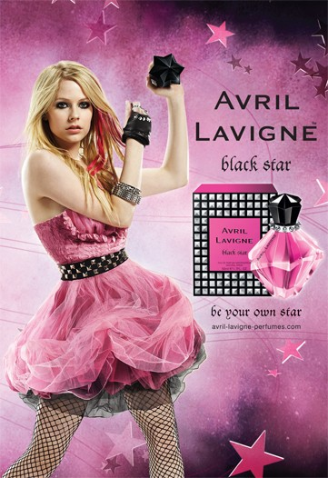 Avril Lavigne Black Star (2009): More News {New Perfume} {Celebrity Scent}