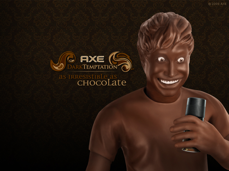 Tv Ad - Axe Dark Temptation: Chocolate Man
