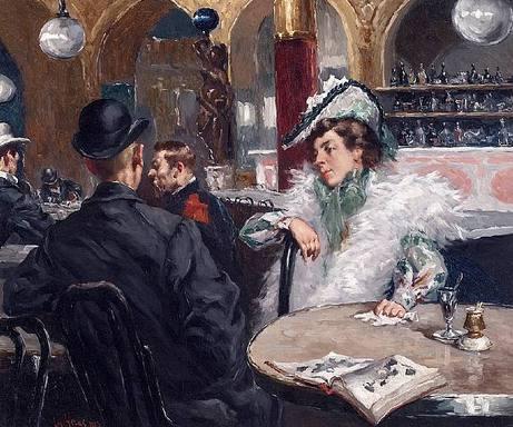 Gaetano-de-las-heras-1903-Parisian-Cafe.jpg