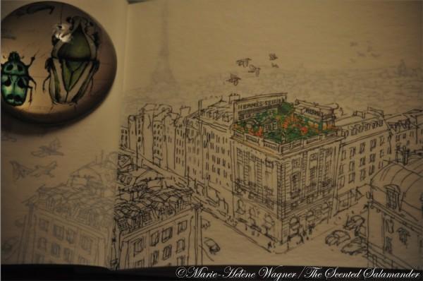 Herm s un jardin sur le toit 2011 two manners of jean - Hermes un jardin en mediterranee review ...