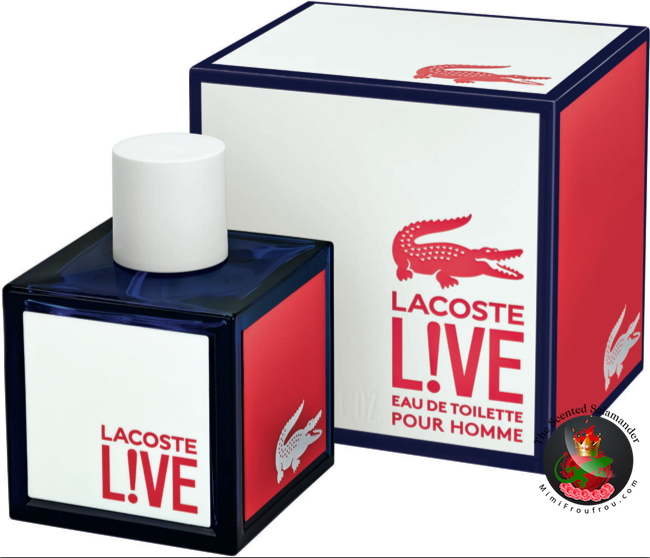 86daca5035 Lacoste L!ve (2014) {New Fragrance} {Men's Cologne} - The Scented ...
