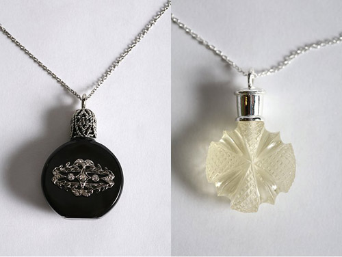 Outfit yourselves with perfume necklaces fragrant for How to make scented jewelry