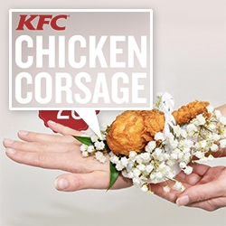 Kfc Get Into The Love Game With A Fried Chicken Corsage