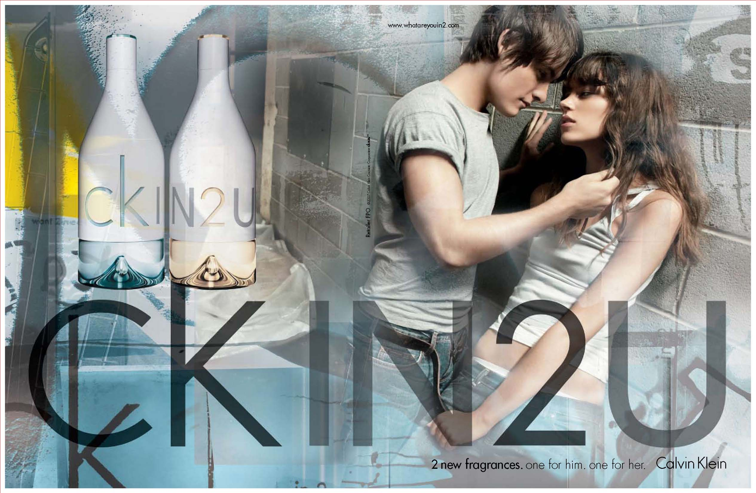 CK IN2U for Her & CK IN2U for Him by Calvin Klein {Perfume ...