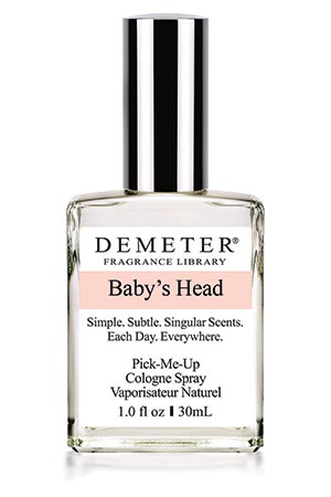 Demeter Baby S Head 2015 The Olfactory Charms Of