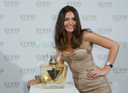 Guess will launch a new women 39s perfume called Seductive which is meant to