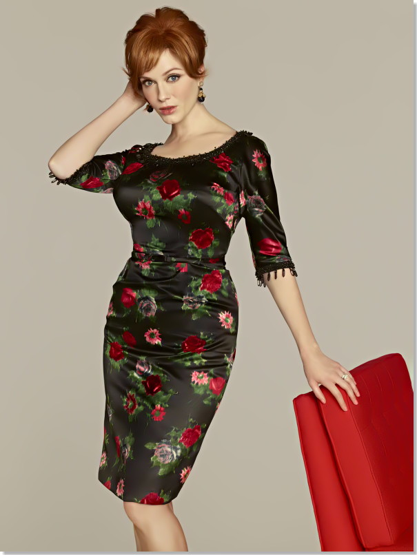 What Christina Hendricks Likes to Waft of in Mad Men