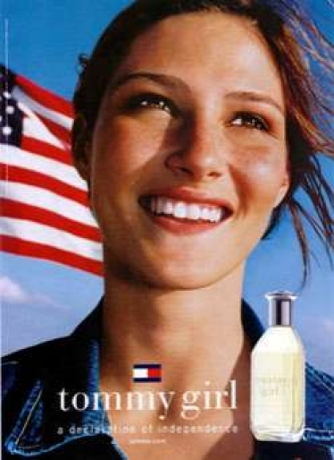 Smelling Tommy Girl Now: When The 1990s Smell Like the 1940s {Scented Thoughts} - tommy_girl_ad