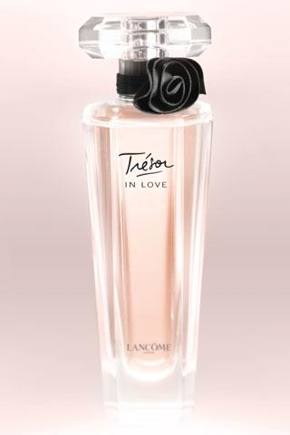 Lancôme will release a new perfume called Trésor in Love at the end of March