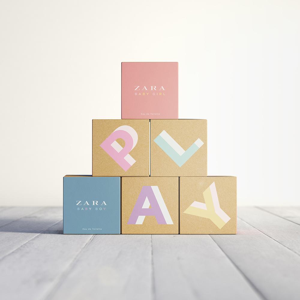 Zara baby hair accessories - Zara Baby Girl Baby Boy 2014 New Kids Fragrances Packaging